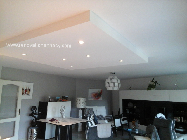 caisson placo plafond led4