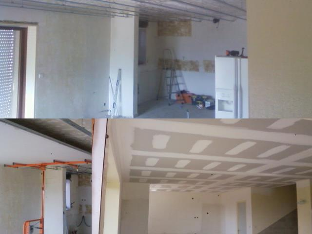 Plaques plafond for Pose d un plafond en lambris pvc