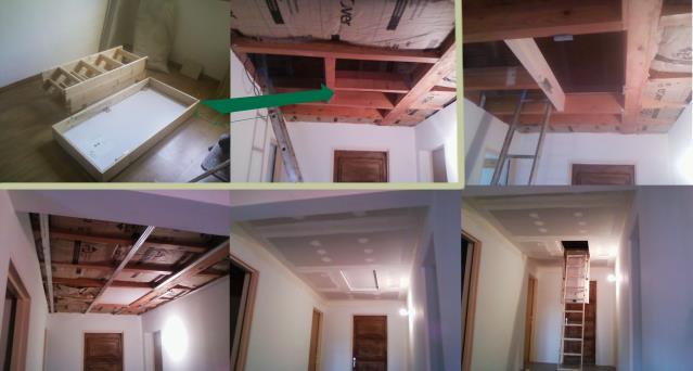 Faux plafond annecy r novation annecy for Rangement au plafond garage
