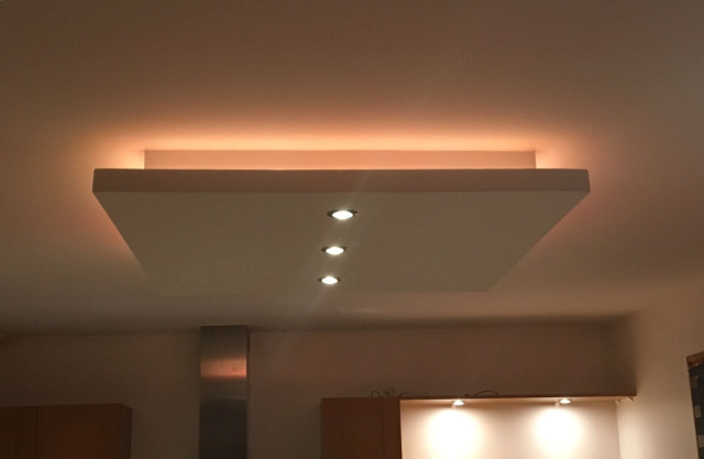 Faux plafond led hj72 jornalagora for Faux plafond renovation