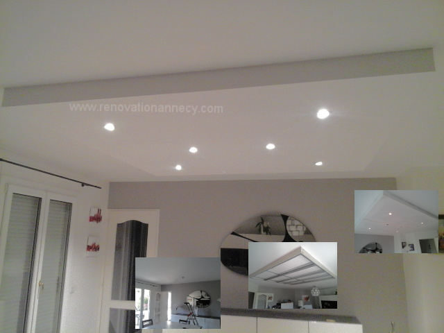 Faux Plafond Led Annecy Renovation Annecy
