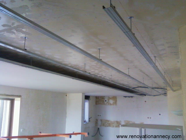 Faux plafond annecy r novation annecy for Renovation plafond
