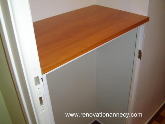 un placard chaussures r novation annecy. Black Bedroom Furniture Sets. Home Design Ideas