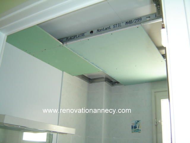 Plafond d coratif plaquiste peintre annecy r novation - Plafond decoratif ...